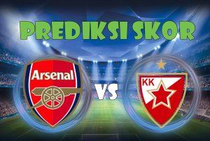 Prediksi Arsenal vs Crvena Zvezda 3 November 2017