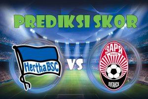 Prediksi Hertha Berlin vs Zorya 3 November 2017