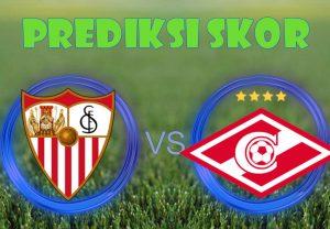 Prediksi Sevilla vs Spartak Moskva 2 November 2017