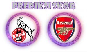 Prediksi Koln vs Arsenal 24 November 2017