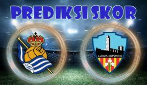 Prediksi Real Sociedad vs Lleida Esportiu 30 November 2017
