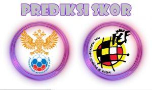 Prediksi Russia vs Spain 15 November 2017