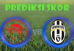 Prediksi Olympiakos Piraeus vs Juventus 6 Desember 2017