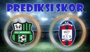 Prediksi Skor Sassuolo vs Crotone 11 Desember 2017