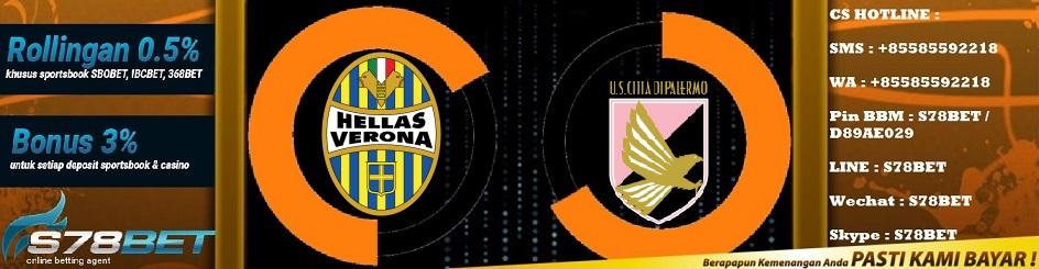 Prediksi Skor Hellas Verona vs Palermo 24 November 2018