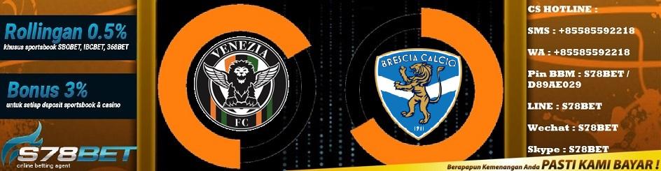 Prediksi Skor Venezia vs Brescia 24 November 2018