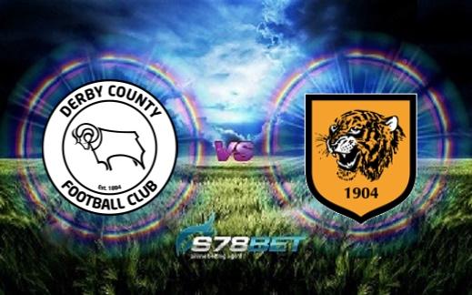 PrediksiSkorDerby County FC vs Hull City AFC09 Februari 2019